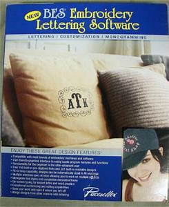 brother pacesetter bes embroidery lettering software With brother bes embroidery lettering software