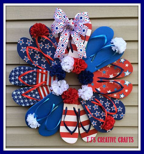 day   life  tj diy dollar store patriotic