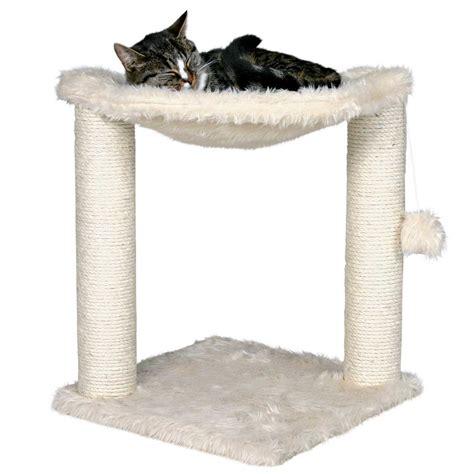 cat tree condo with hammock trixie dreamworld baza cat scratching post petco