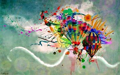 Balloons Abstract Stratospheric