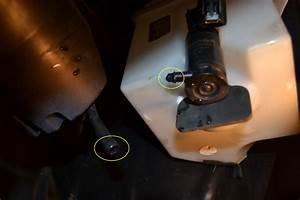 How To Install A Ford Windshield Washer Fluid Reservoir