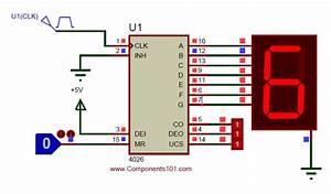 Ic Cd4026 Pinout  Description  Circuit  U0026 Datasheet