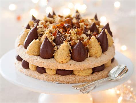 recette dessert original chocolat dacquoise pralin 233 chocolat recettes femme actuelle
