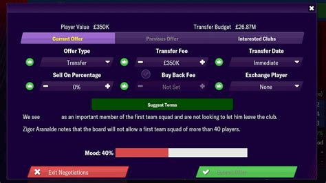 manager football mobile apk gameplay mod tactics android v10