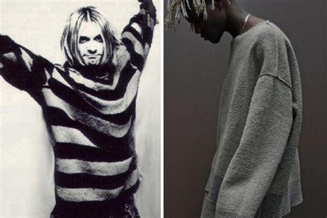 current fashion trends  kurt cobain