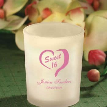 personalized sweet sixteen candle favors nice price favors