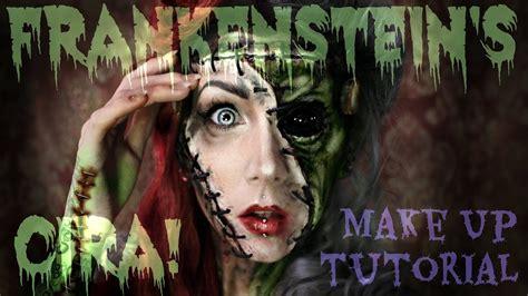 frankensteins cira makeup tutorial inspiriert durch