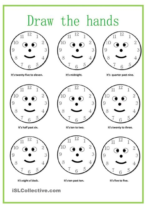 what time is it worksheet free esl printable worksheets made by teachers love learning by