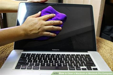 how to clean a macbook or macbook pro computer 8 steps