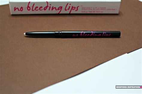 bleeding lips secret lip liner   perfect pout
