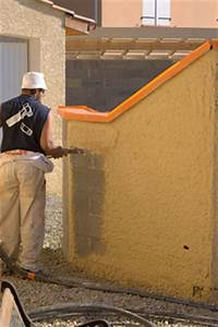 crepir un mur exterieur notre fiche pour crepir un mur With poser du crepi exterieur