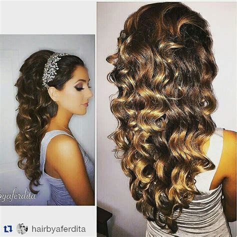 images  quinceanera hair  pinterest