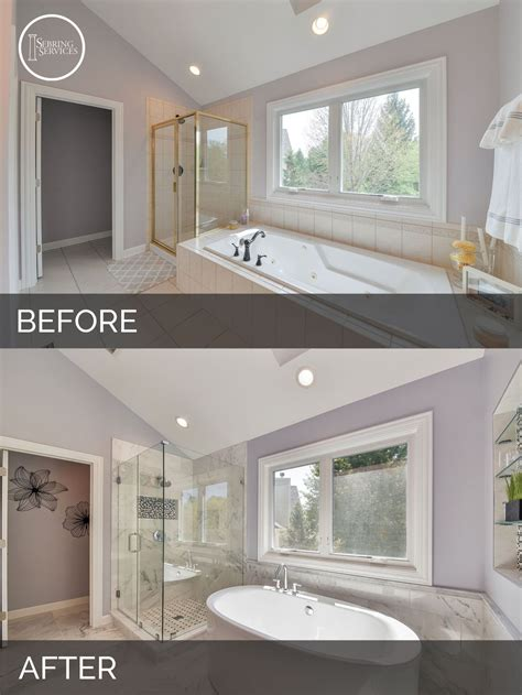 Bathroom Remodel Ideas Before And After by Doug Natalie S Master Bath Before After Pictures