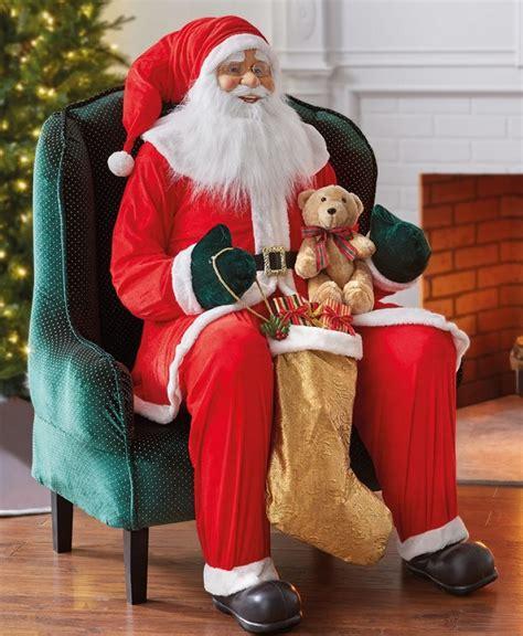 inflatable resplendent santa christmas
