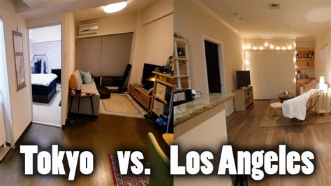 ,000 A Month Tokyo Apartment Vs Los Angeles Apartment