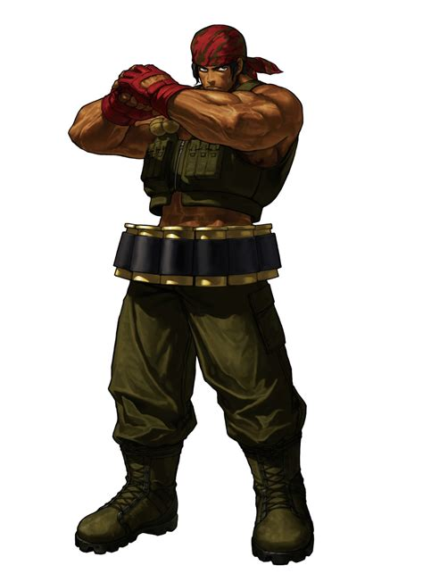 King Of by Ralf Jones King Of Fighters