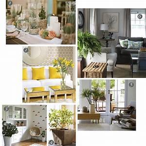 indoor plants decor 2017 - Grasscloth Wallpaper