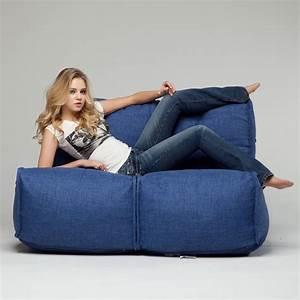2 seater bean bag sofa 2 seater sofa designer bean bag With beanie couch