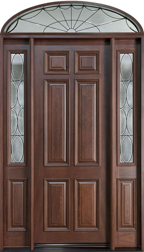 Solid Wood Exterior Doors by Best 25 Solid Wood Front Doors Ideas On Wood