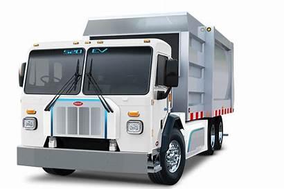 Peterbilt Refuse Truck Electric Orders Customer Trucks
