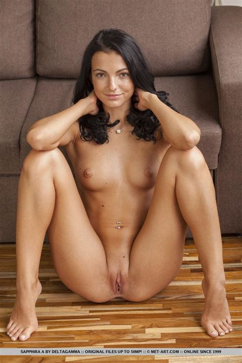 Brunette Coed Sapphira A Gets Naked For You In Atoro
