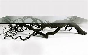 tree table exhibits the the mysterious and intriguing With tree branch coffee table