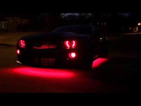 black light underglow camaro zl1 led lighting