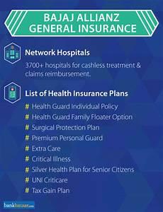 Bajaj Allianz Health Insurance Check Plans Reviews Online