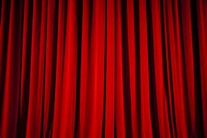 stage curtains background