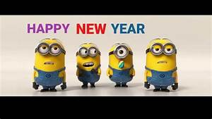 minions Silvester 2016 happy New year - YouTube
