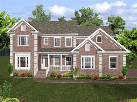 englewood traditional home plan   house plans