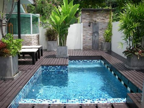 30 ideas for wonderful mini swimming pools in your backyard