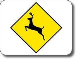 Deer Crossing Sign Clip Art (29+)