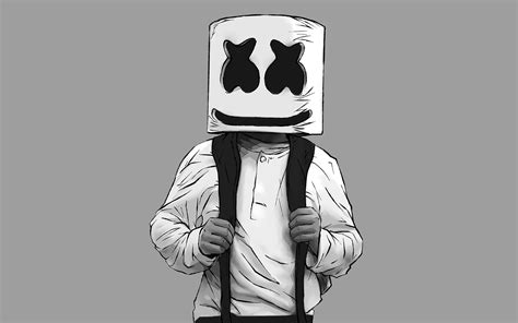 2880x1800 marshmello artwork macbook pro retina hd 4k