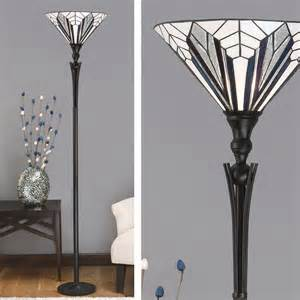 Tiffany Ceiling Fan Lights by Astoria Uplighter Art Deco Floor Lamp T026ul Tiffany Style
