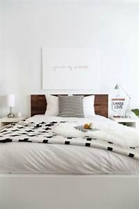 Tete De Lit Bois Ikea : t te de lit ikea personnalis e 10 id es de relooking de meubles tr s cr atives ~ Preciouscoupons.com Idées de Décoration