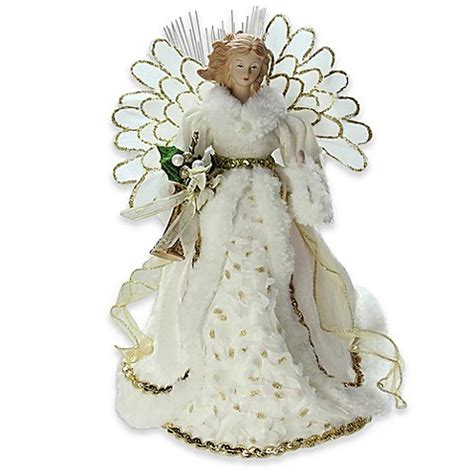 battery operated angel tree toppers 14 inch battery operated tree topper bed bath beyond