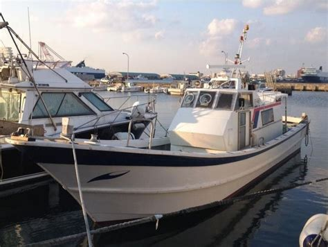 Fishing Boat For Sale Japan by 11 96 M Japan Digunakan Fiberglass Diesel Perahu Nelayan