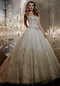 white gown wedding dresses white and gold wedding dress gown naf dresses