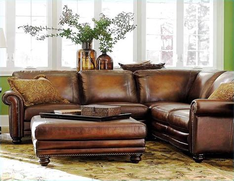 distressed leather sofa sectional distressed leather sectional home design why no one is 6788