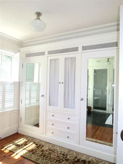built in white closet system for the home