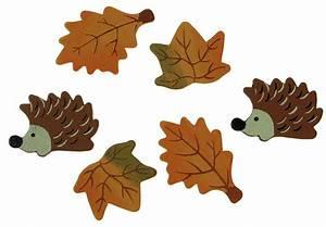 Blätter Basteln Herbst : holzstreuteile herbstmix igel und bl tter 3 4 cm 6 st ck ~ Lizthompson.info Haus und Dekorationen