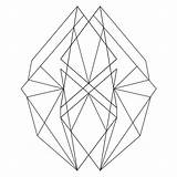 Coloring Abstract Geometric Triangles Babadoodle Popular sketch template