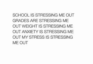 but too much school stress | Tumblr