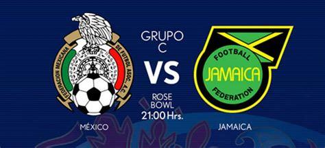 mexico  jamaica   resumen del partido  goles