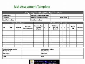 before you bury mother nature With workplace hazard assessment template