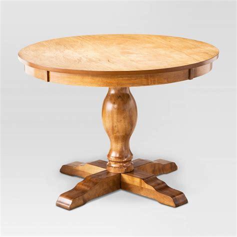 ashton round pedestal dining table round pedestal dining table threshold ebay