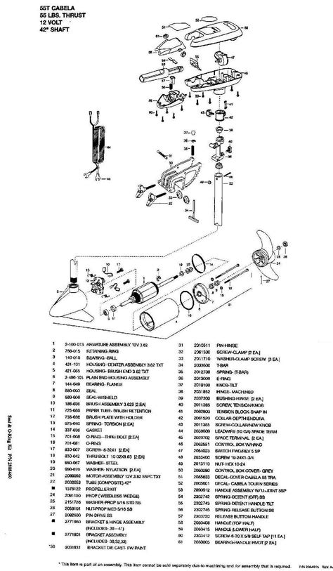 minn kota riptide diagram parts diagram