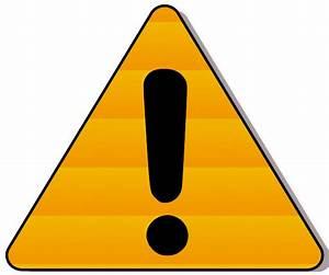 Caution Logo - ClipArt Best
