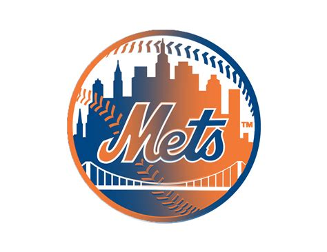 Mets Black And White Logo Png Images